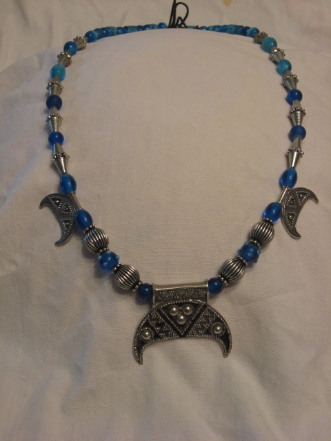 Blue Lunik Necklace