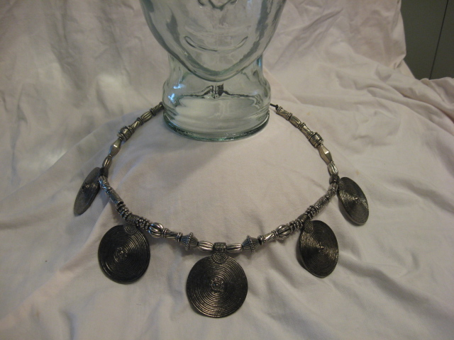 'Antique Silver' necklace